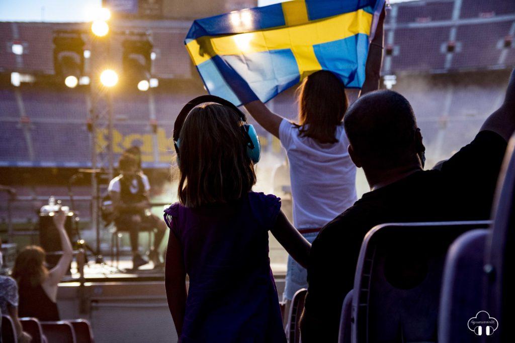 Viva suecia Camp nou